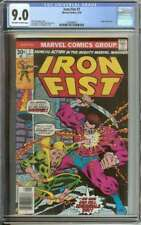 IRON FIST #7 CGC 9.0 OW/WH PAGES