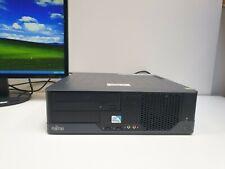 FUJITSU ESPRIMO Windows XP Mini PC 2x 2,80GHz 160GB 2GB DVD COM VGA Computer