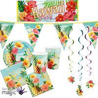 Hawaiian Hawaii Tropical Paradise Summer Beach Pineapple Floral Lei Decorations