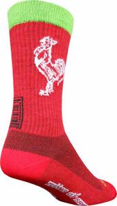 SockGuy Sriracha Wool Socks   8 inch   Siracha   L/XL