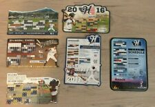 2013-2018 Magnetic Schedule Helena Brewers MiLB Milwaukee 2014 2015 2016 2017