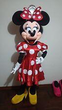 Disfraz ( costume, botargas, mascot) HERMOSA MINNIE MAUSE TRAJE ADULTO