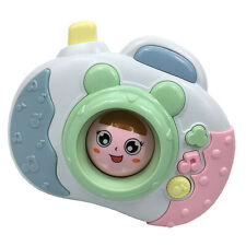 Cute Kids Baby Cartoon Face Changing Camera Model Toy with Music and Lights