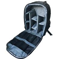 Waterproof Camera Bag Backpack For Cannon Nikon DSLR Camera Video Laptop Case