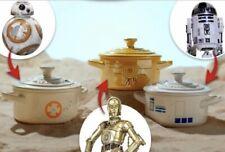 Le Creuset Disney Store Star Wars Galactic Droids Petite Round Casserole Set x 3