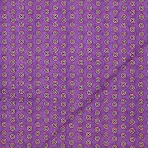 Night Bright Hello Angel Purple Fabric Circles Dots Half Yard Wilmington Prints