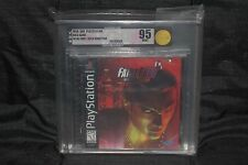 VGA 95 Fatal Fury: Wild Ambition (Sony PlayStation 1, PS1, PSX) Gold, MINT!
