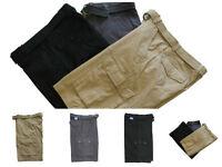 Men's Heavy Twill Cargo Short Washed Pants