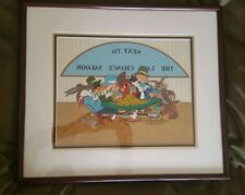 "Warner Brothers Chuck Jones ""Next to the Last Chance Saloon"" Animation Cel Ltd E"