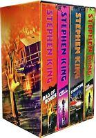 Stephen King Collection 4 Books Set Bag of Bones Christine Cell Shining NEW