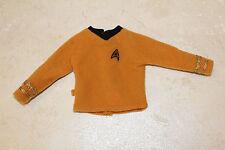Barbie's Ken Star Trek Captain Kirk Male Fleet Officer uniform shirt clothes top