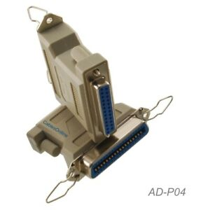 DB25 Female to Centronics 36 Female Parallel Printer Adapter