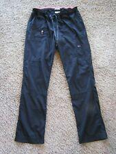 Koi Lite Dobby Slim Fit Mechanical Stretch Black Polyester Scrub Pant Womens Mt