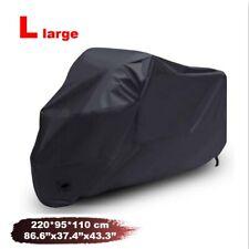L Motorcycle Cover Black Fit Honda CB CBF 500 550 600 650 750 900 1000 1100 CB1