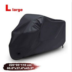 L Motorcycle Cover Black for Honda CB 350 450 500 550 650 750 A C F 900 C F 919