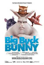 BIG BUCK BUNNY Movie POSTER 27x40 B