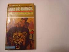 Tarzan and the Golden Lion, Edgar Rice Burroughs, Ballantine, 50c