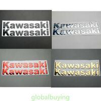 Motorcycle Fuel Tank Decals For Kawasaki Ninja Stickers 250R 300R Emblem Badge