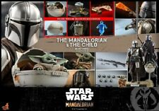 Hot Toys TMS015 1 6 Star Wars The Mandalorian and The Child Deluxe Toy