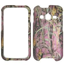 Pink Camo DryFor Samsung Galaxy Rugby Pro i547 Tuff Cover Case Snap on Protector
