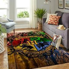 Harry potter hogwarts area rug, harry potter carpet, christmas gift home decor