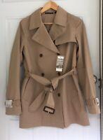 Women's uniqlo short trench coat Size medium