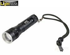 Lighthouse CREE LED 350 Lumen Aluminium Torch, Focus Beam Control L/HEFOC350L