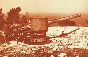 Nostalgia Postcard British Soldiers on Mount Carmel, Israel 1918 Repro Card NS28