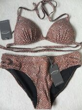 51ff36a6b438d Fat Face Womens Tribal Geo MOULDED Bikini Top (uk 12) Swimwear