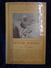 THE LONSDALE LIBRARY VOL XXXIII MOTOR RACING by S C H DAVIS-SEELEY SERVICE*HB*