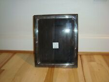 """Vintage Modern American Sterling Silver Large 8x10"""" Picture Photo Frame"""