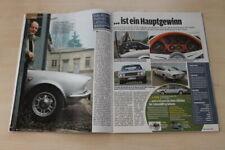 Auto Bild 22323) Fiat Dino Coupe 2.4 mit 180PS in einer seltenen Vorstellung auf
