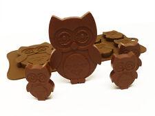 6 +1 Con Dibujo De Búho Bird Corazones Chocolate Candy Cookie Bakeware del silicón Molde Pastel Horneado