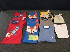 12 BOYS SHIRTS WONDER KIDS TODDLER 3T TOPS CLOTHES ROCKET ANIMAL STRIPE BULK LOT
