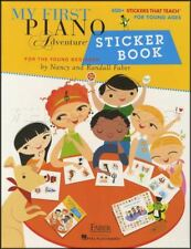 My First Piano Adventure for the Young Beginner Sticker Book Over 400 Stickers