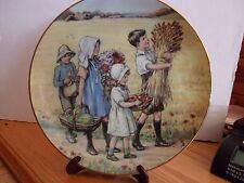 Cicely Mary Barker Beloved Hymns 1990 Now Thank We All Our God Ltd Ed Plate