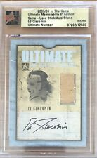 05/06 ITG ULTIMATE - ED GIACOMIN - #2/50 - STICK & AUTO - IN THE GAME
