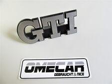VW Golf 2 GTI Schriftzug Emblem Zeichen 191853679 L Grill Kühlergrill Original