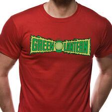 Green Lantern - Original Logo T Shirt (All the Heroes) - NEW & OFFICIAL