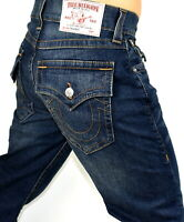 True Religion Men's Ricky Relaxed Straight Brand Jeans - 102211