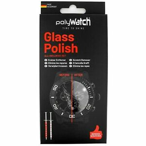 Polywatch Watch Polish Scratch Remover for Glass Crystals Repair