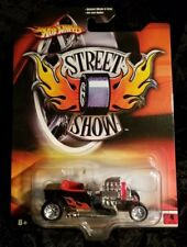 HOTWHEELS ** STREET SHOW, T-BUCKET **  DETAILED WHEELS & TIRES, AWESOME ROD !!