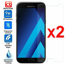 2Pcs 9H+ Tempered Glass Screen Protector For Samsung Galaxy A3 A5 A7 2017 /2016