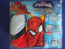 MARVEL ULTIMATE SPIDER-MAN SUPER HERO TODDLER BOYS' BRIEFS SIZE 4T ( 3 BRIEFS )