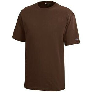 Champion Youth (Brown) Basic Cotton T-Shirt (XS-XL)