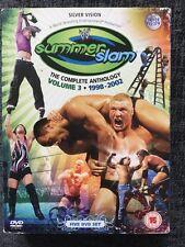 WWE - Summerslam Anthology Volume 3 DVD Box Set 1998-2002 Region 2 WWF Vol
