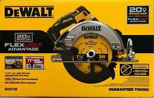 Dewalt DCS573B 7 1/4 Cordless Circular Saw w Brake 20 volt Flex Advantage NEW
