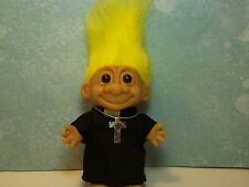"PRIEST - 5"" Russ Troll Doll - NEW IN BAG - Yellow Hair"