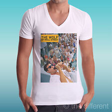 T-SHIRT UOMO a V THE WOLF OF WALL STREET PARTY IDEA REGALO ROAD TO HAPPINESS