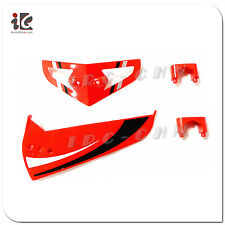 1 SET RED DECORATIVE BLADE EGOFLY LT-711 HAWKSPY RC HELICOPTER PARTS LT711-09